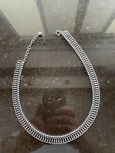 Vintage Necklace Sterling Silver 925 Made In Germany