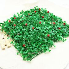 Flower Grass Plastic Fish Tank Ornament Plant Aquarium Lawn Landscape Decor Dulc