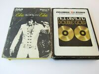 Lot of 8 Track Tapes Elivs Thats the Way it is and Neil Diamond Double Gold