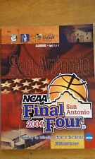 2004 NCAA Men's Basketball Final Four San Antonio Official Program