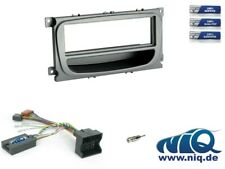 1-DIN RB mit Fach Ford Mondeo //Focus S-MAX silber C-Max
