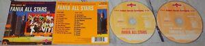Fania All Stars - The Best Of 2xCD Album Boogaloo Salsa Descarga Latin 2001