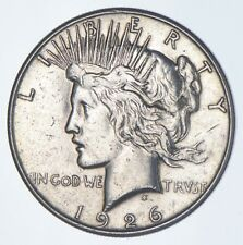 Early - 1926-S - Peace Silver Dollar - 90% US Coin *663