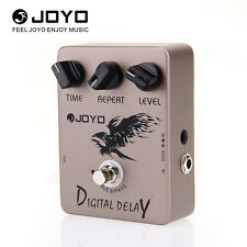 JOYO DIGITAL DELAY Pedal Metal Electric Guitar Effects Ture Bypass 9V 25-600ms