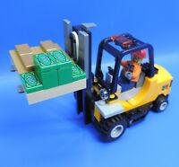 Lego City Tren 60198 Carretilla Elevadora con Paleta Selección en Bauanleitungen