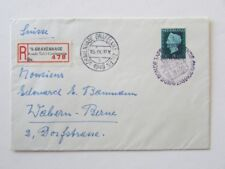 THE HAGUE SPECIAL ROUND TABLE CONFERENCE COVER 1949 USED