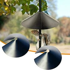 Wrap Around Squirrel Baffle,Protects Hanging Bird Feeders 2pcs 16Inch
