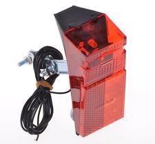 LED Fahrrad Lampe für Dynamo Rücklicht Nabendynamo Rück Licht Rad Rot für Strebe