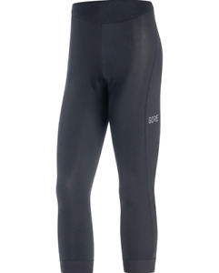 🎁🎄Gore Wear C3 3/4 Womens Tight Black Size M New with Tag RRP £75 🎁🎄