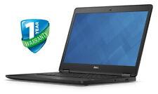 """Dell Latitude Laptop E7470 14"""" i5 i7 6th Gen 8GB 16GB RAM 256GB SSD Webcam"""