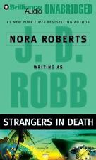 STRANGERS IN DEATH  unabridged audio CD by J.D. ROBB * FREE SHIPPING * Brand New