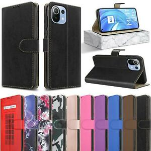 For Xiaomi Mi 11 Lite 5G Case, Magnetic Flip Leather Wallet Stand Phone Cover
