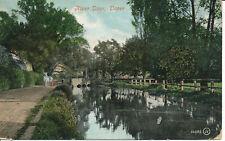 PC14355 River Dour. Dover. Valentine. 1906
