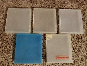 Nintendo NES Plastic Snap Game Case Holder Lot of 5
