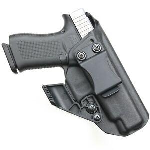 BLACK Kydex Holster for Glock 48 Iwb/Aiwb + CLAW/ WING Adjustable.