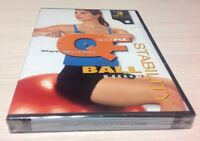 Quickfix STABILITY BALL WORKOUT (DVD) 3 workouts, New/Sealed