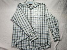 Ariat Pro Series Shirt Sz XL Vented Long Sleeve Button Front Plaid Western
