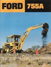 Equipment Brochure - Ford - 755A - Tractor Loader Backhoe - c1980's (E1167)