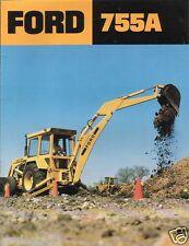 Equipment Brochure - Ford - 755A - Tractor Loader Backhoe - c1980's (E1167)