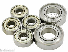 Ripstik Complete Set of 6 Ball Bearings for Caster Board Ripstick Pack Rip Stik