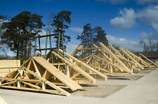 Roof Trusses Made To Order Fully Certified Timber Truss