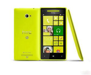 "Original HTC 8X C620e Unlocked 3G Wifi 8GB 8MP Camera 4.3"" Window Phone"