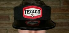Texaco Gas Station Attendants Hat Visor Excellent Condition Oil Garage Display