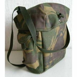 Britischer Armee Haversack Umhängetasche DPM Tarn Maskentasche Tasche camo GB