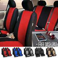 Car Seat Cover Neoprene Waterproof Pet Proof Full Set Cover With Dash Pad