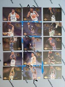Komplettset 1994-95 Skybox Slammin' Universe 1-30 Ewing, Hill, Mourning, Mutombo