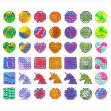 Fidget Popper Push Pop Bubble Stress Relief Kids Adult Toy Sensory Toys Autism