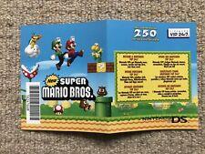 Nuevo Super Mario Bros Ds sin arañazos Club Nintendo Points Nintendo Ds