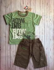 Conjunto de niño de Mini Bol - camiseta y bermudas