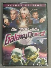 Galaxy Quest Dvd 1999 Deluxe Edition - Tim Allen - Sigourney Weaver - New Sealed
