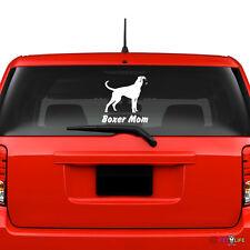 Boxer Mom Windshield Sticker Vinyl Auto Window