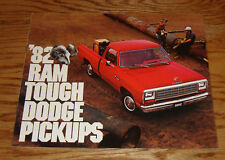 Original 1982 Dodge Ram Pickup Full Line Sales Brochure 82 D150 D250 D350 W150