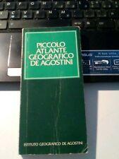 LIBRO piccolo atlante geografico De Agostini 1985