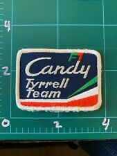 vintage Candy Tyrell Formula 1 Team Patch