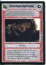 Star Wars CCG Dagobah Limited BB Polarized Negative Power Coupling