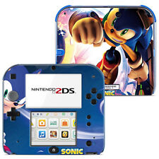 SKIN STICKERS AUTOCOLLANT POUR NINTENDO 2DS REF 003 - Sonic the Hedgehog