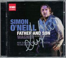 Simon O'NEILL Signiert WAGNER Father & Son TOMLINSON IKKINEN CD Götterdammerung
