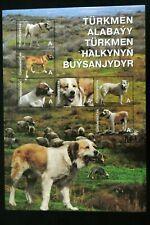 Turkmenistan Alabai dogs postage stamps rare exclusive collectible original asia