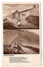 Kirkstone Pass & Inn - Comic Art Postcard c1910 Abraham