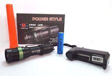 TORCIA TATTICA MILITARE CREE LED XENON ZOOM RICARICABILE 38000W HL-109G