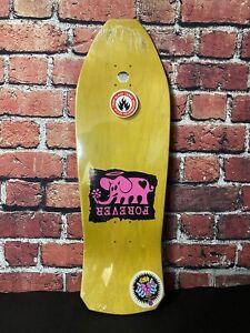Jeff Grosso Forever Black Label Skateboard Deck Santa Cruz Alice In Wonderland