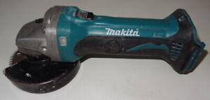 Makita DGA452 18V Cordless Li-Ion 115mm Angle Grinder Bare Tool No Reserve!