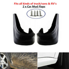 2xTruck Car Van RV Mud Flap Mudgurads Fender Dust Guards Protect Cover Plate Kit