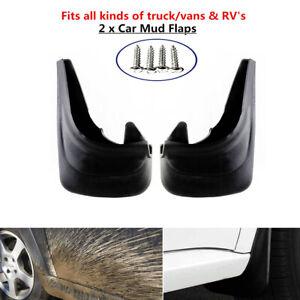 2xTruck Car Van RV Mud Flap Mudgurads Fender Dust Guards Protect Cover Plate Kit