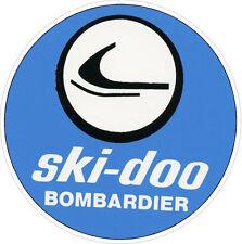 "#629 (1) 3.5"" Ski-Doo Bombardier REPRODUCTION Vintage Vinyl Decal LAMINATED"