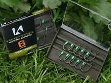 10 x KORDA KURV SHANK BARBED GRAVEL COLOUR SIZE 10 HOOKS FOR CARP FISHING